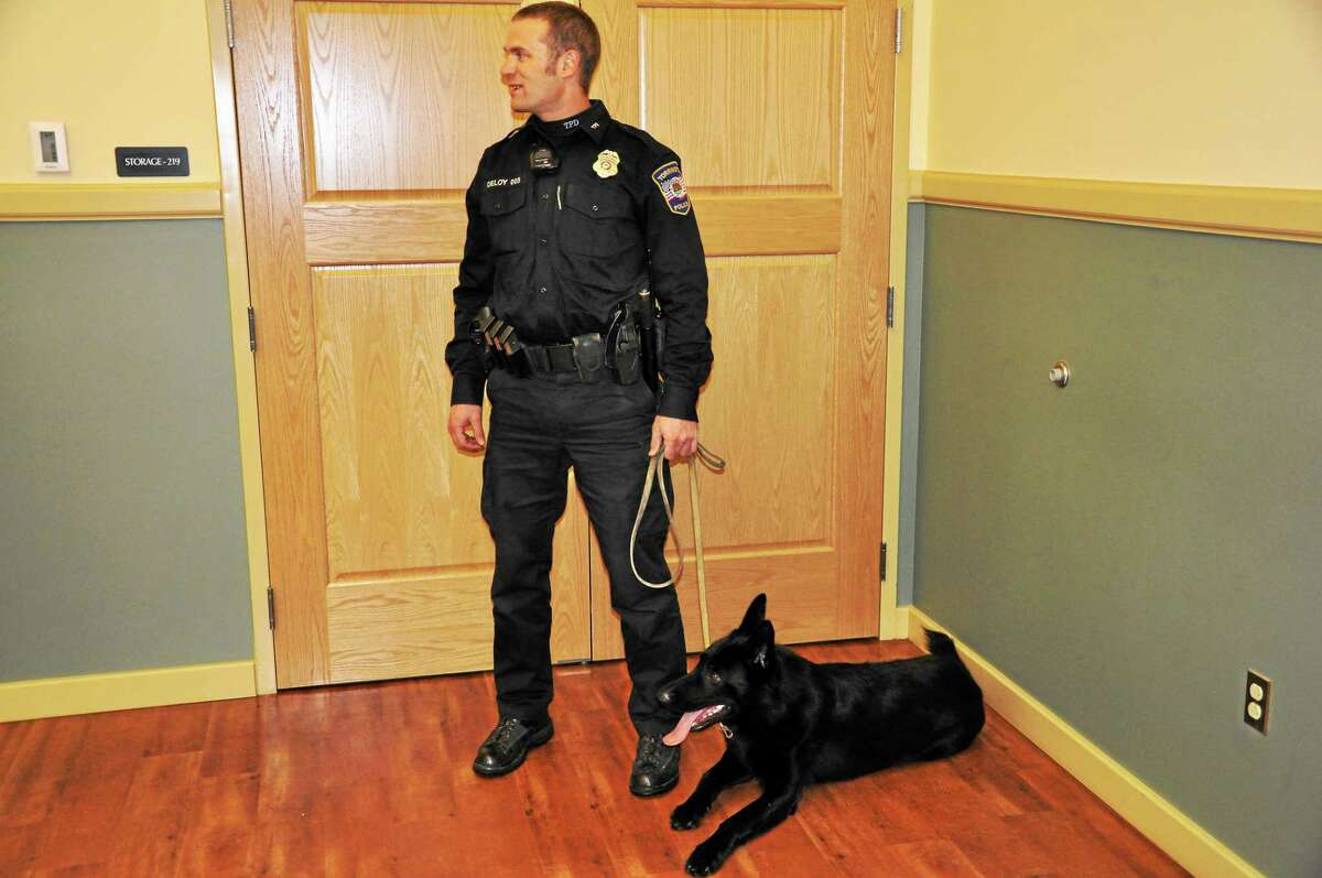 K-9 Titus will take over for Brodie after he has received his training.