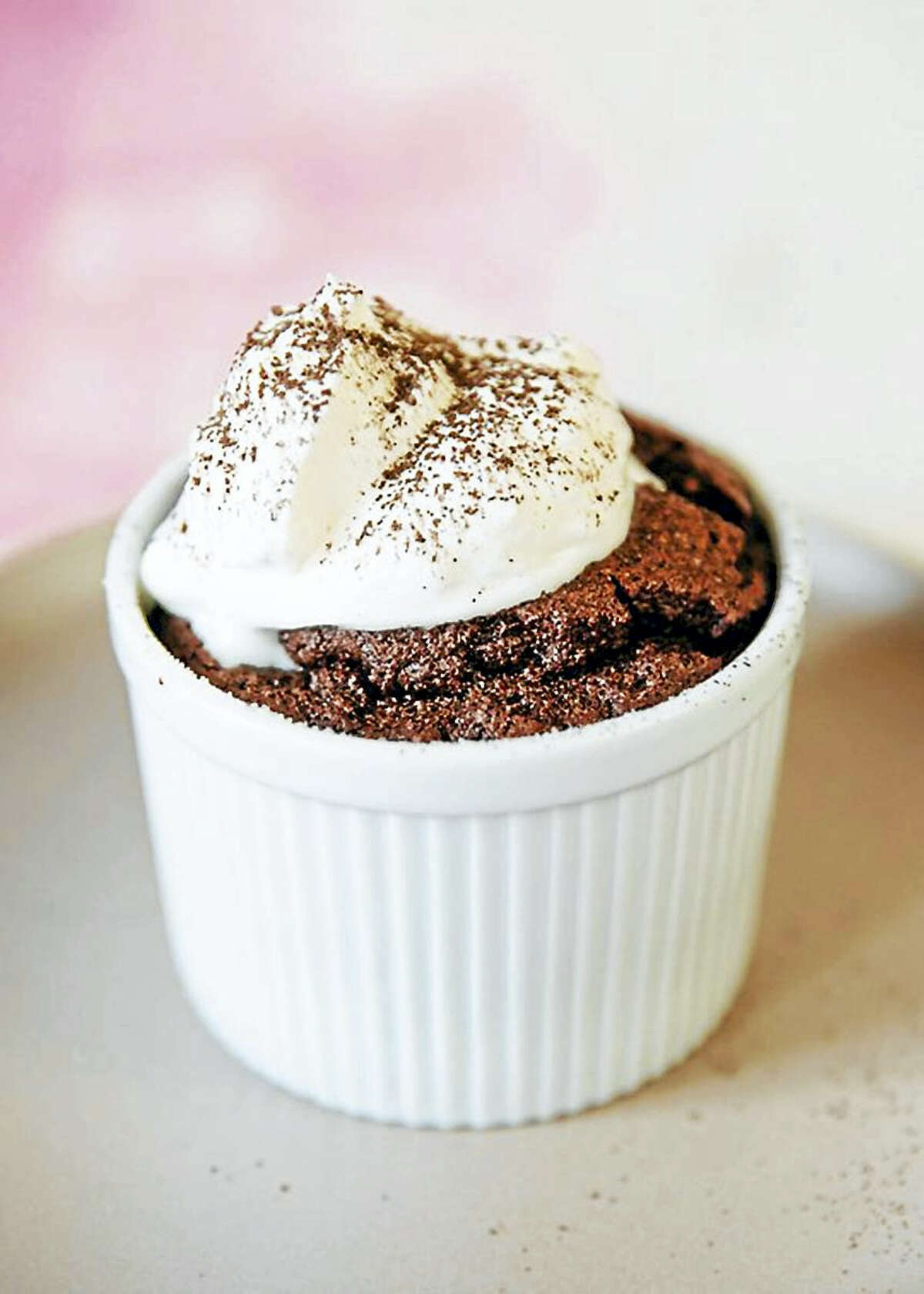While there's no need to rush to the table, souffles are best when served warm.