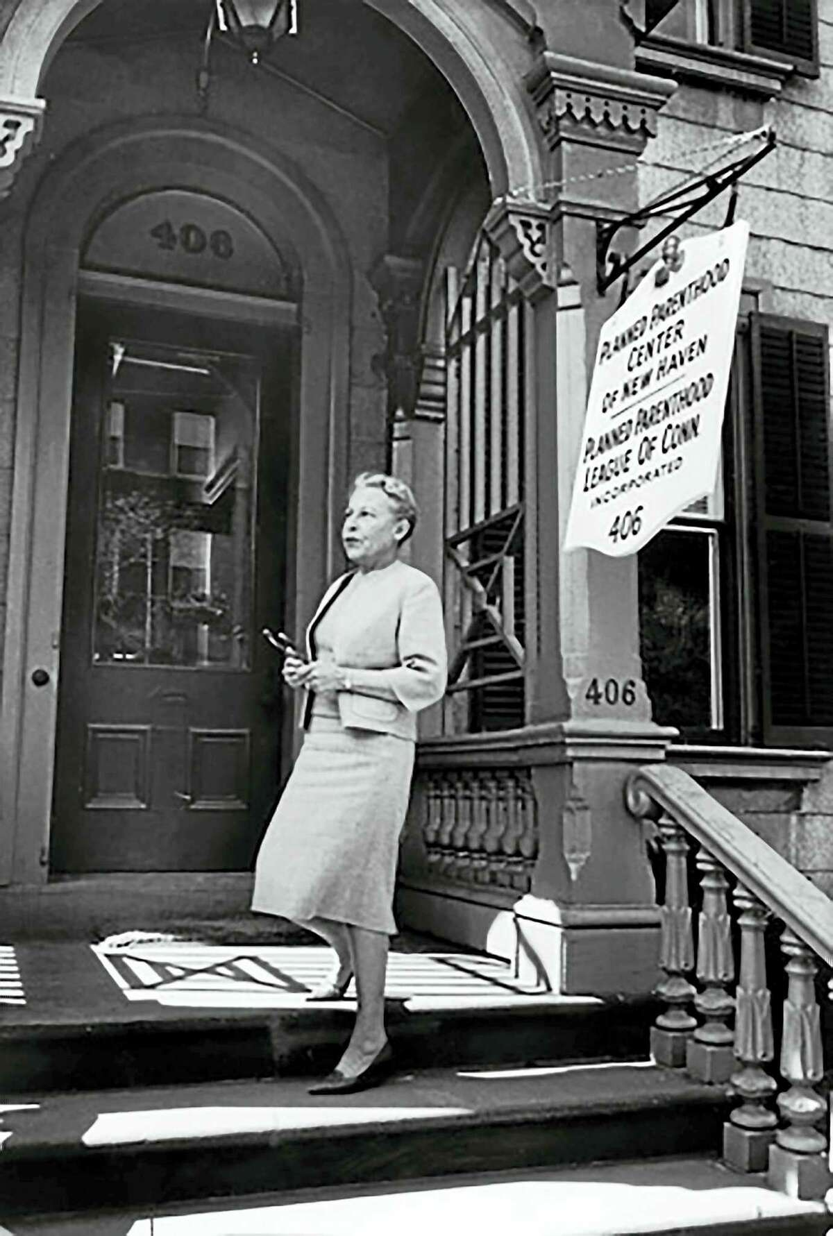 COURTESY PLANNED PARENTHOOD OF SOUTHERN NEW ENGLAND Estelle Griswold's defiance of the Connecticut law banning birth control led to a landmark 1965 Supreme Court decision.