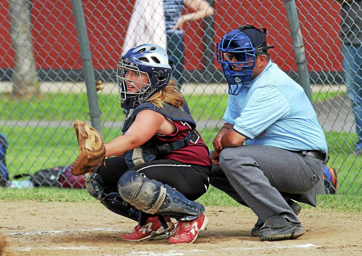Photo courtesy of Marianne Killackey Torrington catcher Marissa Morris will be playing for UCONN this fall.
