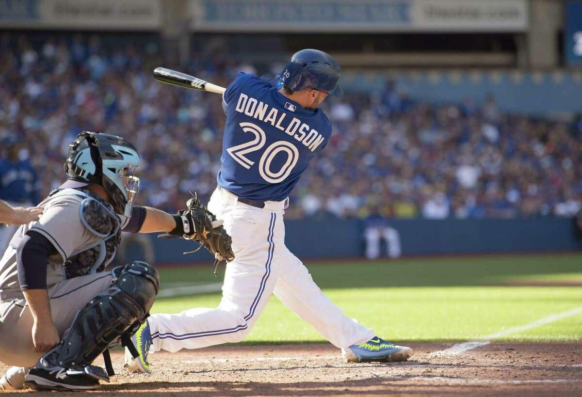 Toronto Blue Jays third baseman Josh Donaldson should be the American League MVP according to the Register's David Borges.