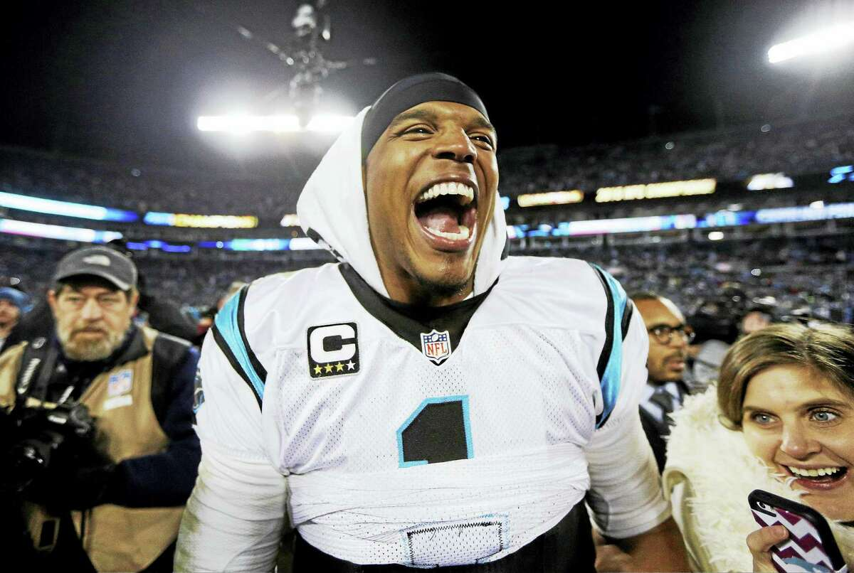 Cam Newton will look to give the Carolina Panthers their first Super Bowl title today in Santa Clara, California.