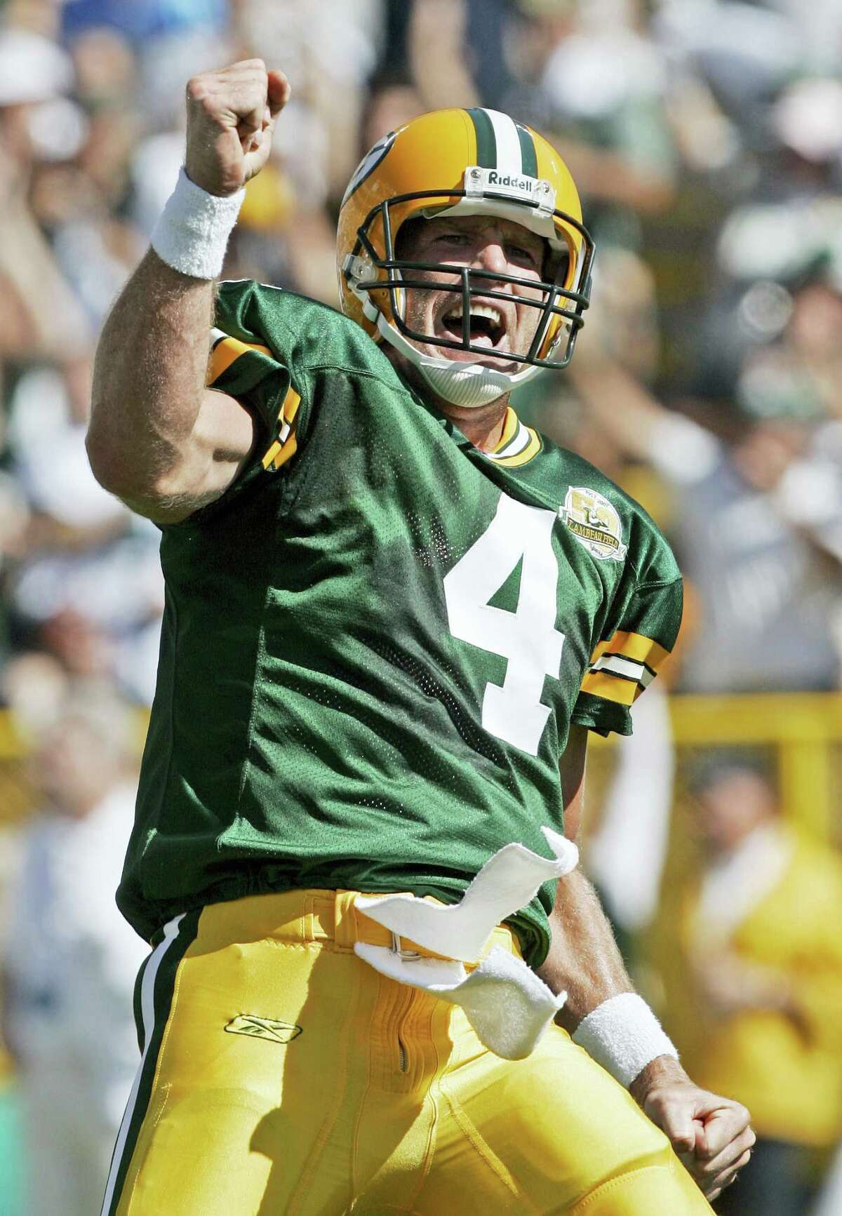Quarterback Brett Favre was elected to the Pro Football Hall of Fame on Saturday.