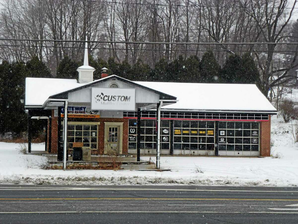 This vacant garage, located at 760 Main St., will be converted into a new Dunkin' Donuts in Winsted.