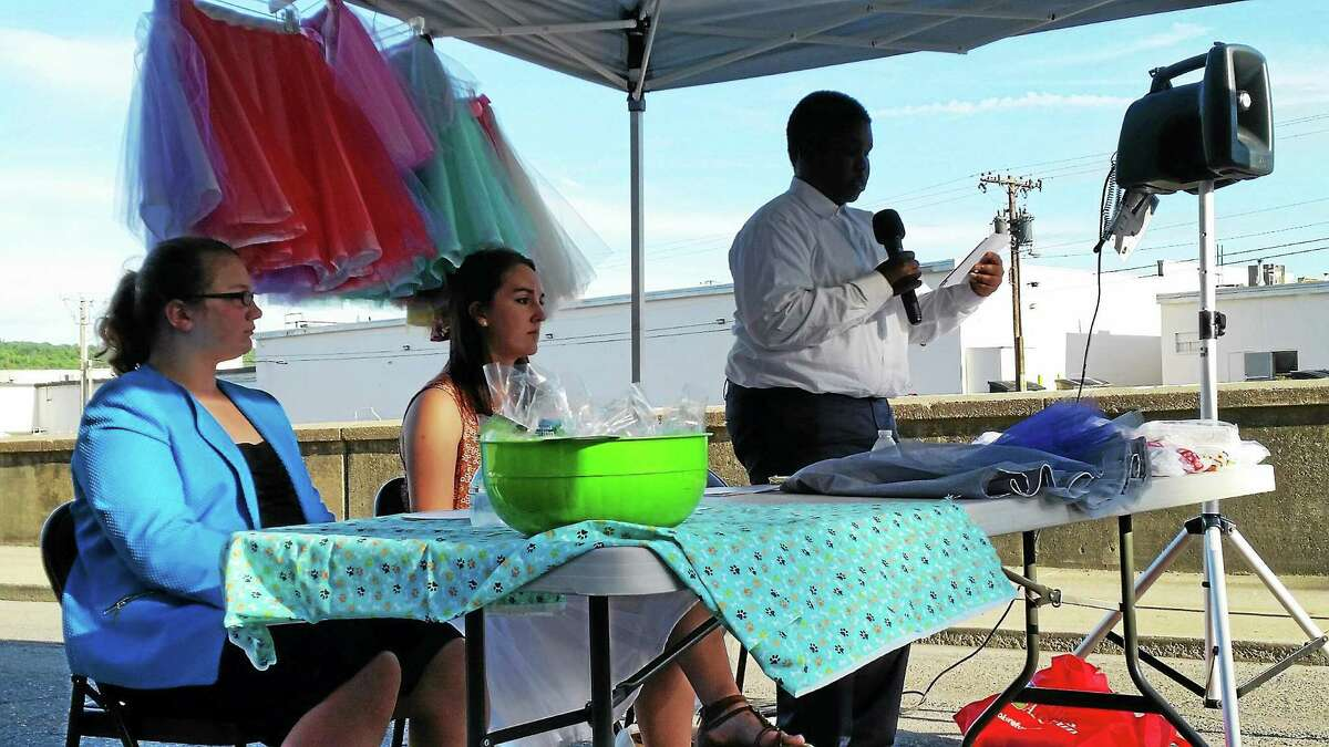 Young entrepreneurs presented their business models to the community on Friday in Torrington.