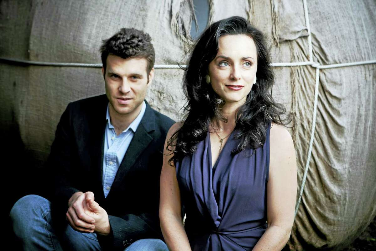 Eben Pariser and Molly Venter of Goodnight Moonshine.