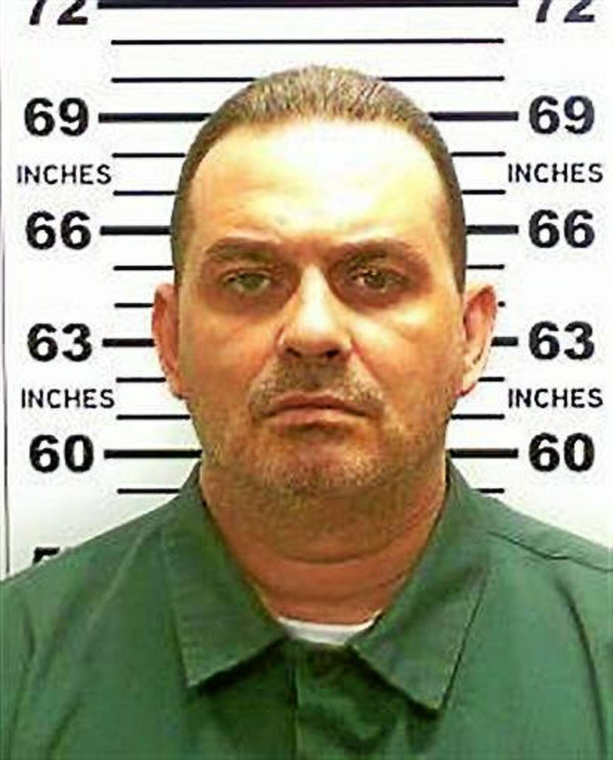 This undated photo released by the New York State Police shows Richard Matt. Authorities say 48-year-old Richard Matt and 34-year-old David Sweat escaped from the Clinton Correctional Facility in Dannemora. (New York State Police via AP)