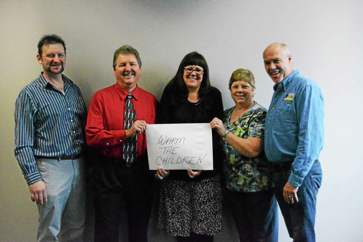 (From left): Ronald Grochowski, Jim Weingart, Andrea Benedict, Pat Marciano and Scott Carlson.