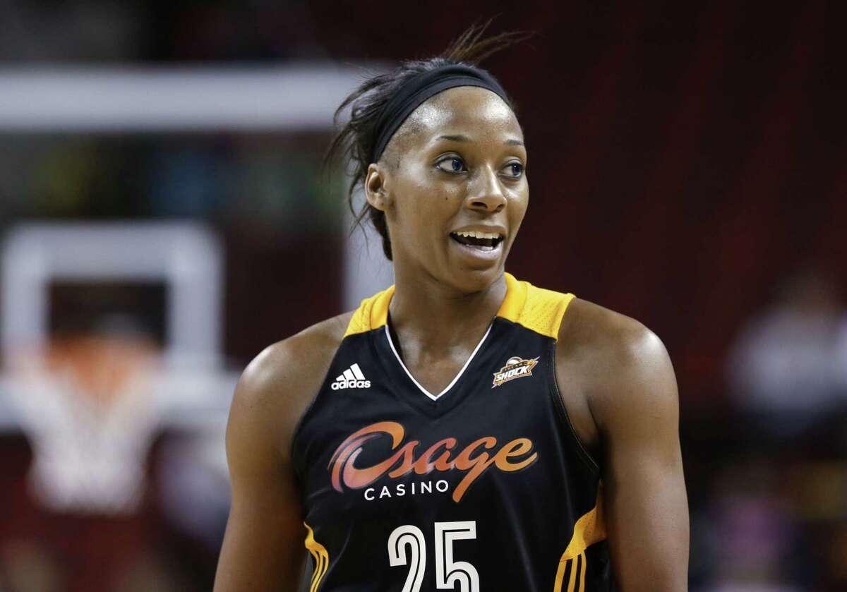 Tulsa Shock forward Glory Johnson-Griner is pregnant and will miss the WNBA season.