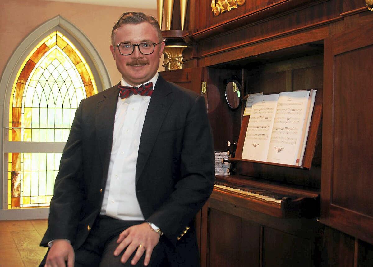 Photo by John McKennaOrganist James Bush will perform on Trinity Milton Episcopal Church's Thomas Hall tracker organ on Sunday, June 26.