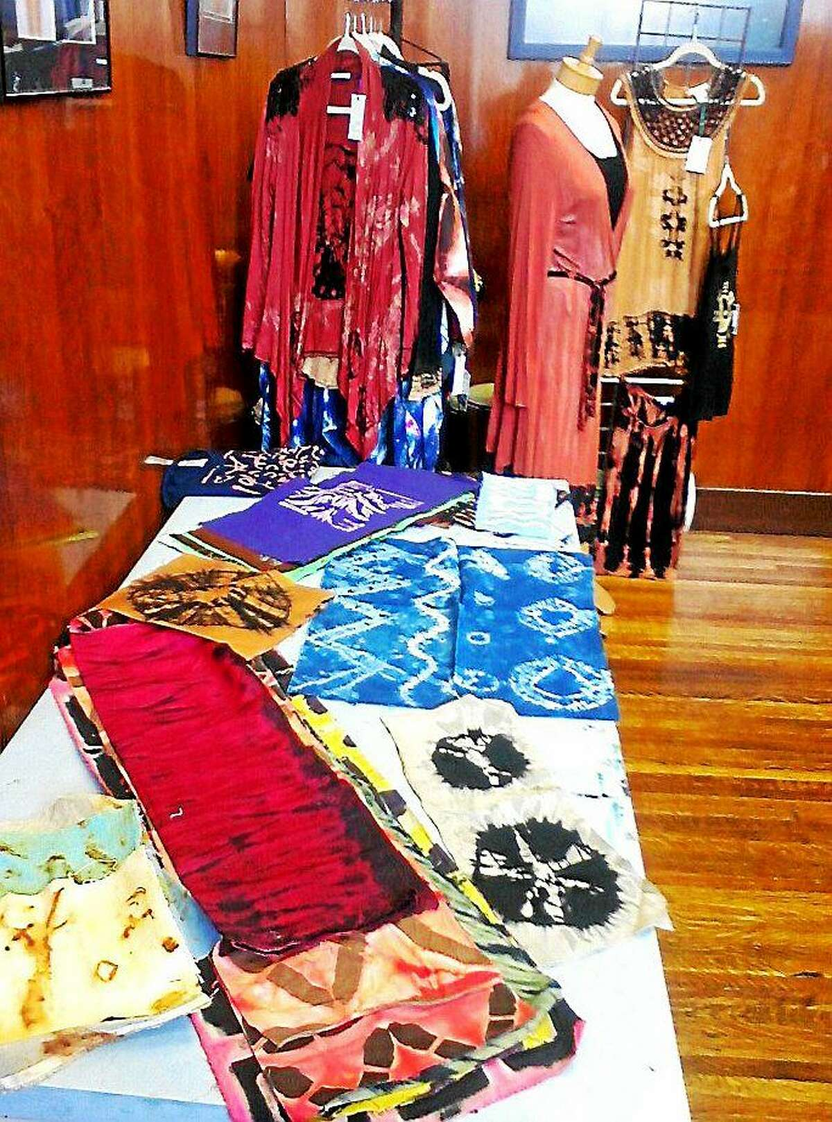 Contributed photo In Sheep's Clothing and artisans and friends will be weaving, spinning and crocheting at the Performance Hub in Torrington as part of the monthly Arts Walk downtown.