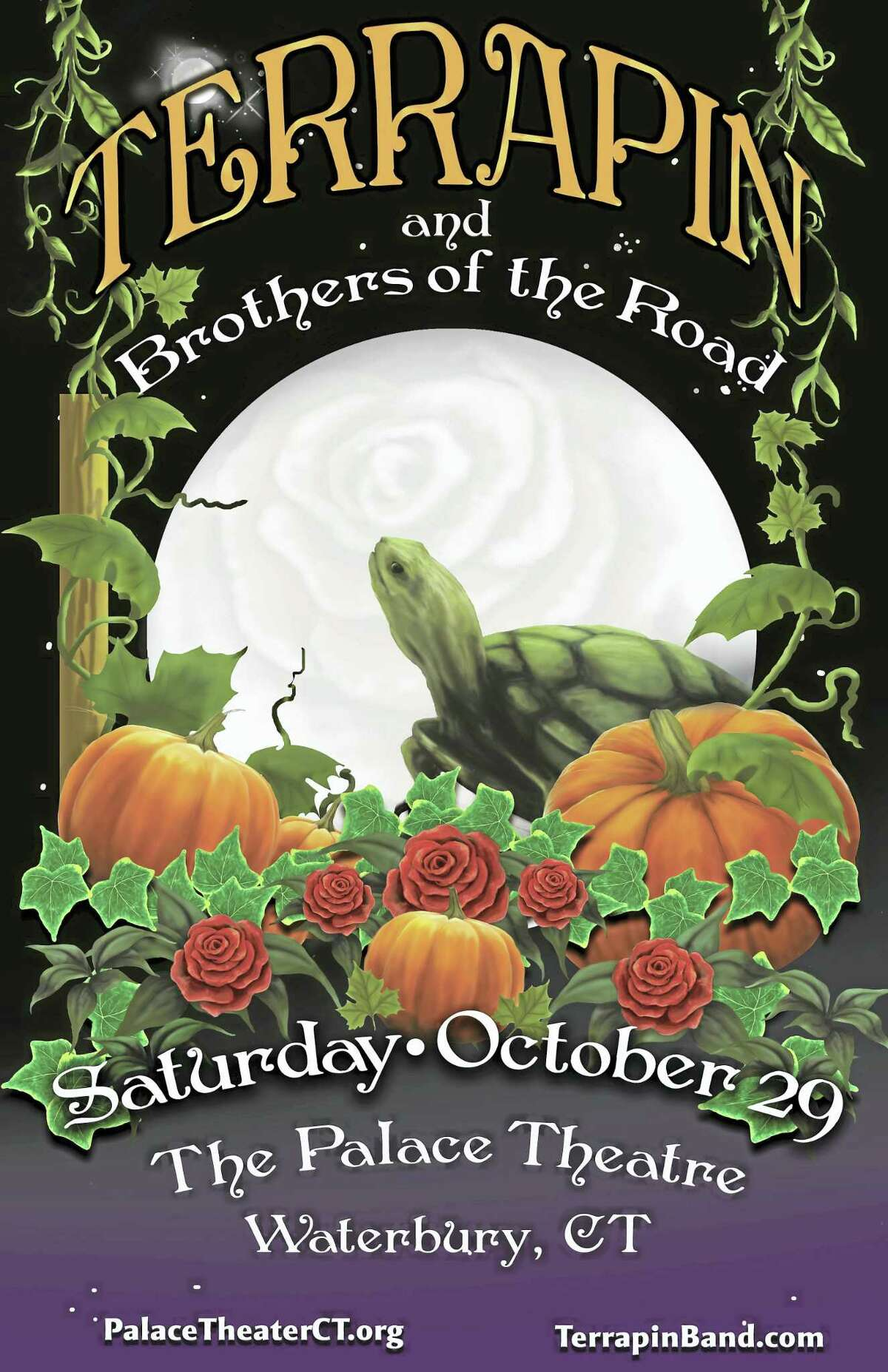 Contributed photoTerrapin and the Brothers of the Road perform Oct. 29 at the Palace Theater in Waterbury.