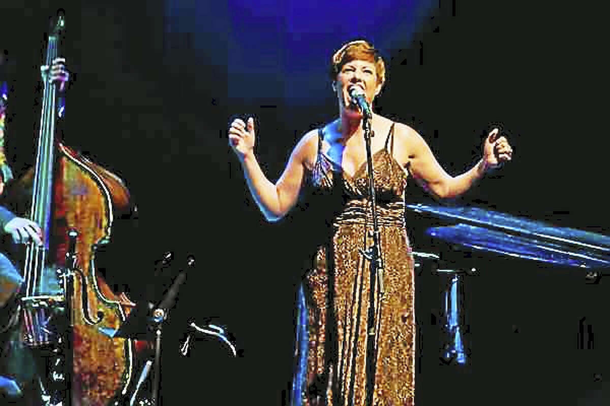 Contributed photo Jazz singer Cassandre McKinley performs at the Poli Club at the Palace in Waterbury Oct. 28.