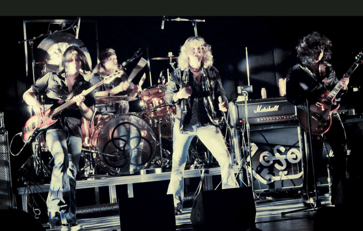 Contributed photoHammer of the Gods, a Led Zeppelin tribute band, is performing at the Palace Theater in Waterbury Feb. 6.
