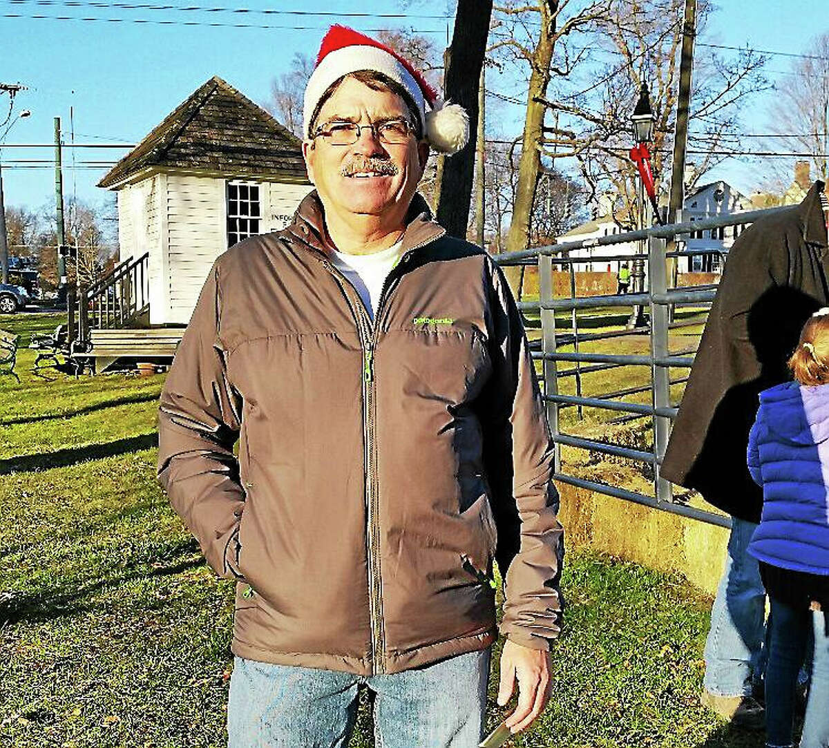 N.F. Ambery Litchfield Parks & Recreation Director Brent Hawkins oversaw the activities of the Litchfield Holiday Stroll & Tree Lighting.
