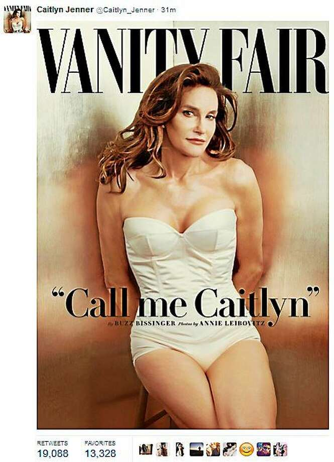 Bruce Jenner debuts as Caitlyn Jenner on the July issue of Vanity Fair. Photo: Screenshot Of Caitlyn Jenner's Twitter