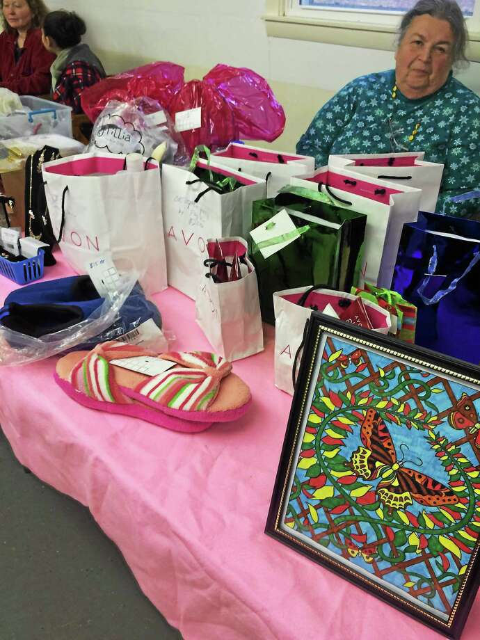 Avon products were part of the shopping experience at the Christmas Bazaar in the Northfield section of Litchfield Photo: Daniela Forte — The Register Citizen