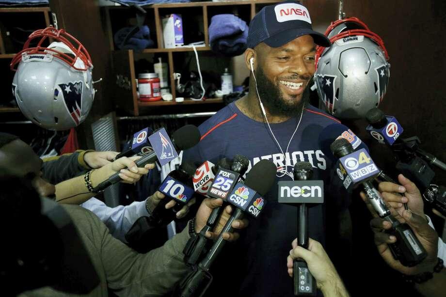 New England Patriots tight end Martellus Bennett. Photo: Steven Senne — The Associated Press File  / AP