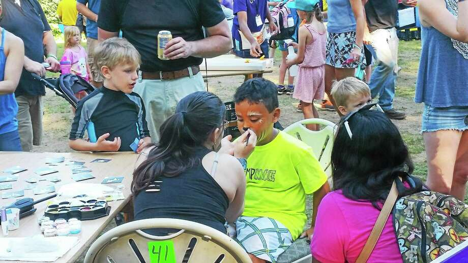 Campers enjoy the activities at the fifth annual Moe Day at Torrington's Camp Moe. Photo: Amanda Webster — The Register Citizen