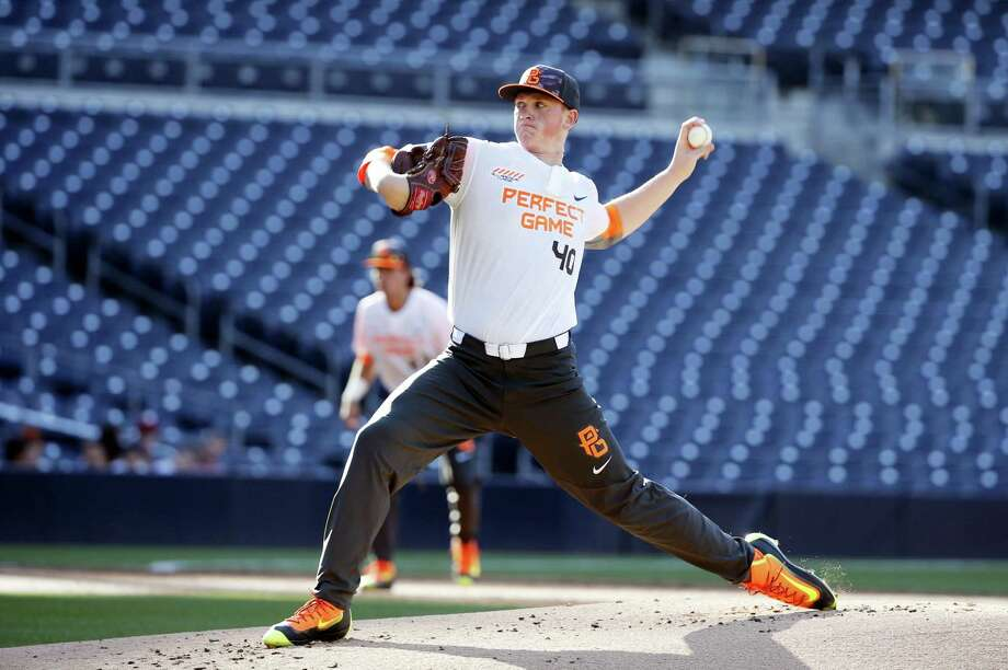 Jason Groome was taken 12th overall by the Red Sox in the MLB draft. Photo: The Associated Press File Photo  / Copyright 2016 The Associated Press. All rights reserved. This material may not be published, broadcast, rewritten or redistribu