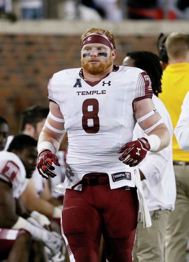 Stratford's Tyler Matakevich has led Temple to a 9-2 record this season. Photo: Tony Gutierrez — The Associated Press File Photo  / AP