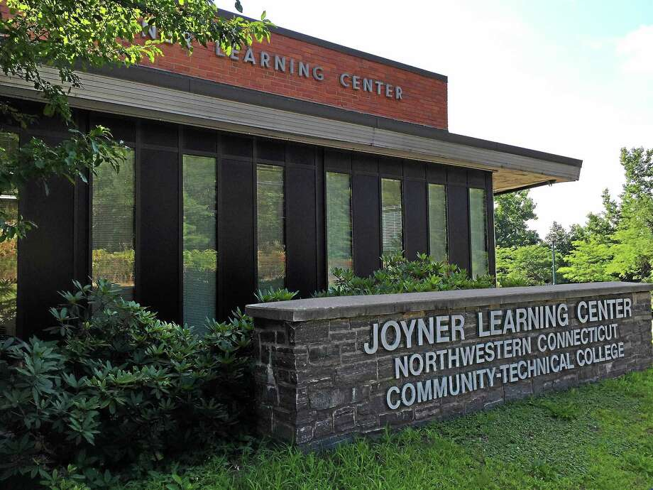 State funds will be used to construct a new building to replace the current Joyner Hall at Northwestern Connecticut Community College. Photo: Ben Lambert — The Register Citizen