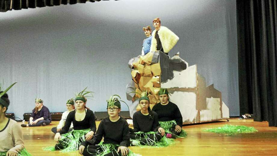 Contributed photosThe cast of The Lion King Jr. is ready to perform the popular Disney story this weekend in Torrington. Photo: Journal Register Co.