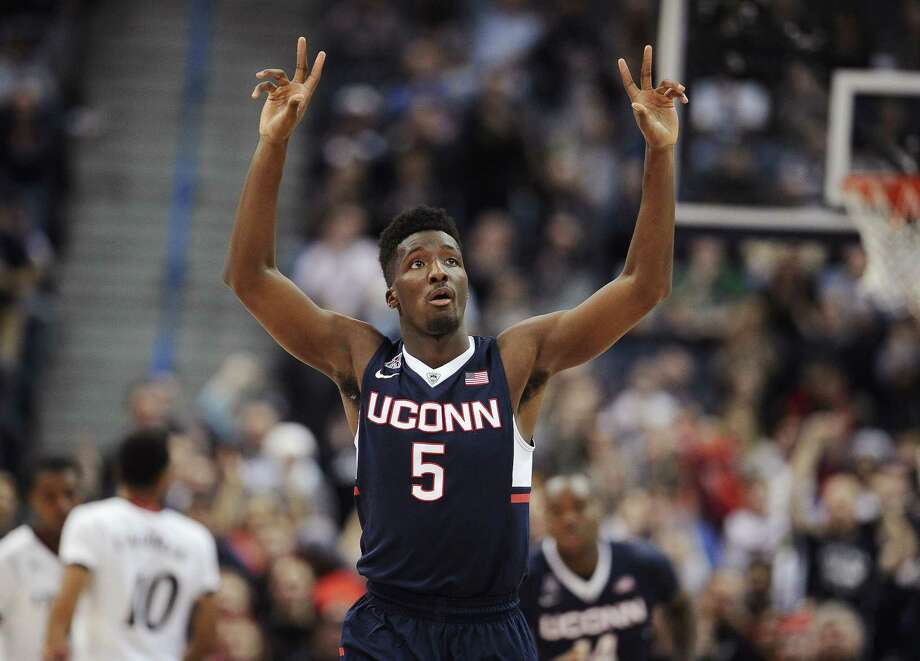 Daniel Hamilton and UConn look to be the AAC favorites heading into the 2015-16 men's basketball season. Photo: Jessica Hill — The Associated Press File Photo  / FR125654 AP