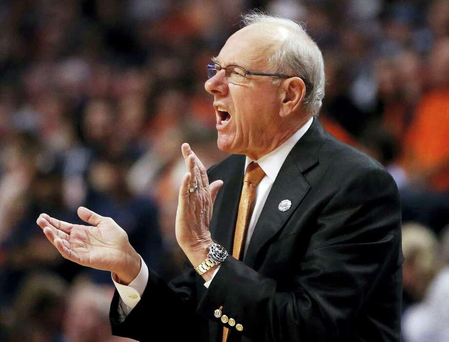 Syracuse head coach Jim Boeheim. Photo: The Associated Press  / AP
