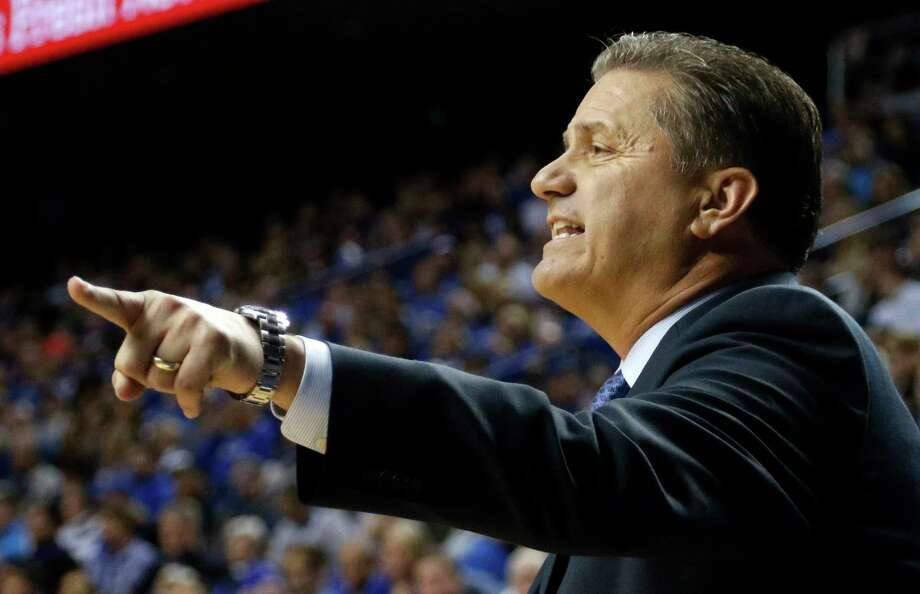 John Calipari's Kentucky Wildcats are the No. 1 team in the nation. Photo: James Crisp — The Associated Press  / FR6426 AP