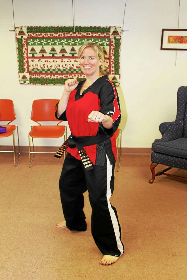 Sensei Colleen Motuzick opened Empower Karate and Kickboxing in May. Photo: Photo By John Nestor