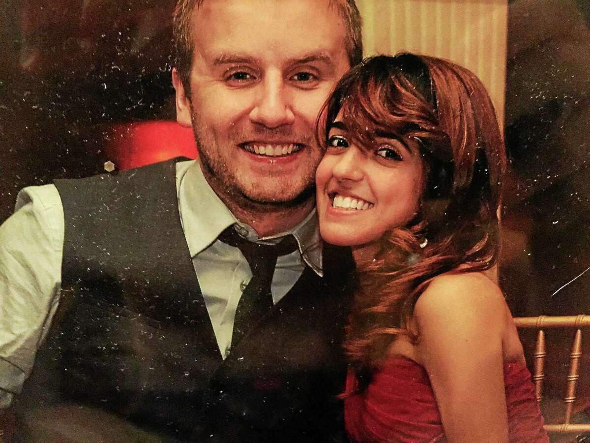 Josh Dailey of Torrington and Sara Senko are entered into a contest to win their dream wedding.