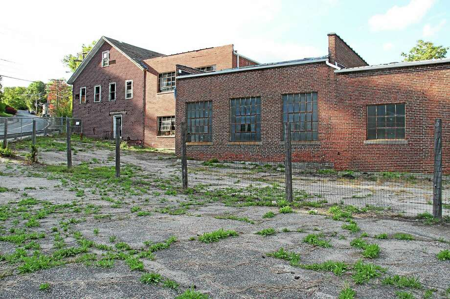 The former Lambert Kay facility brownfield is now remediated. Photo: Register Citizen File Photo