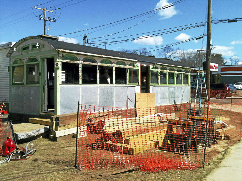 Contributed photoSkees Diner in 2013, before it was moved from its longtime spot on East Main Street. Photo: Digital First Media