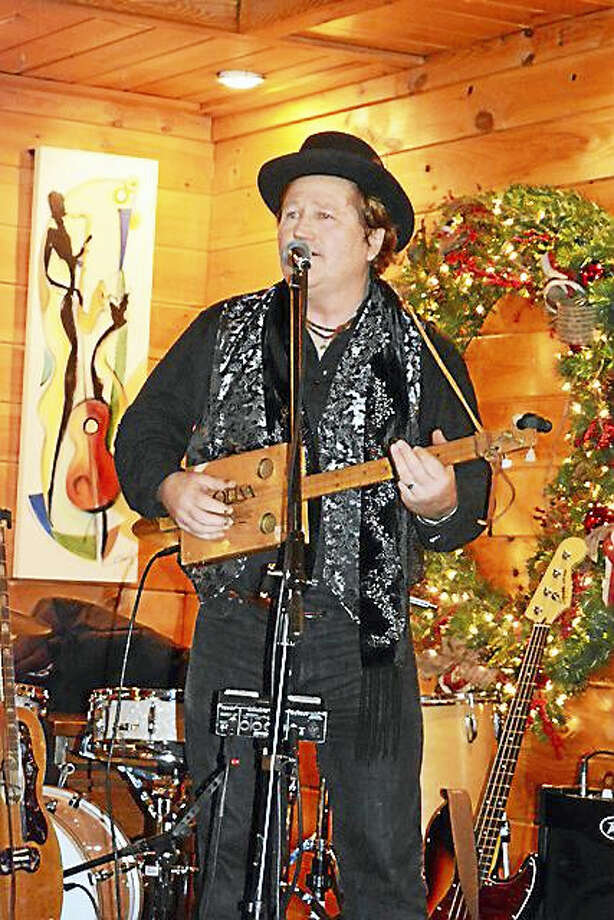 """Photo by Dom ForcellaDan Stevens is keeping busy in the local clubs and with the Nightingale's Acoustic Café's """"Pickin' Parties"""" on Tuesday. Photo: Journal Register Co."""