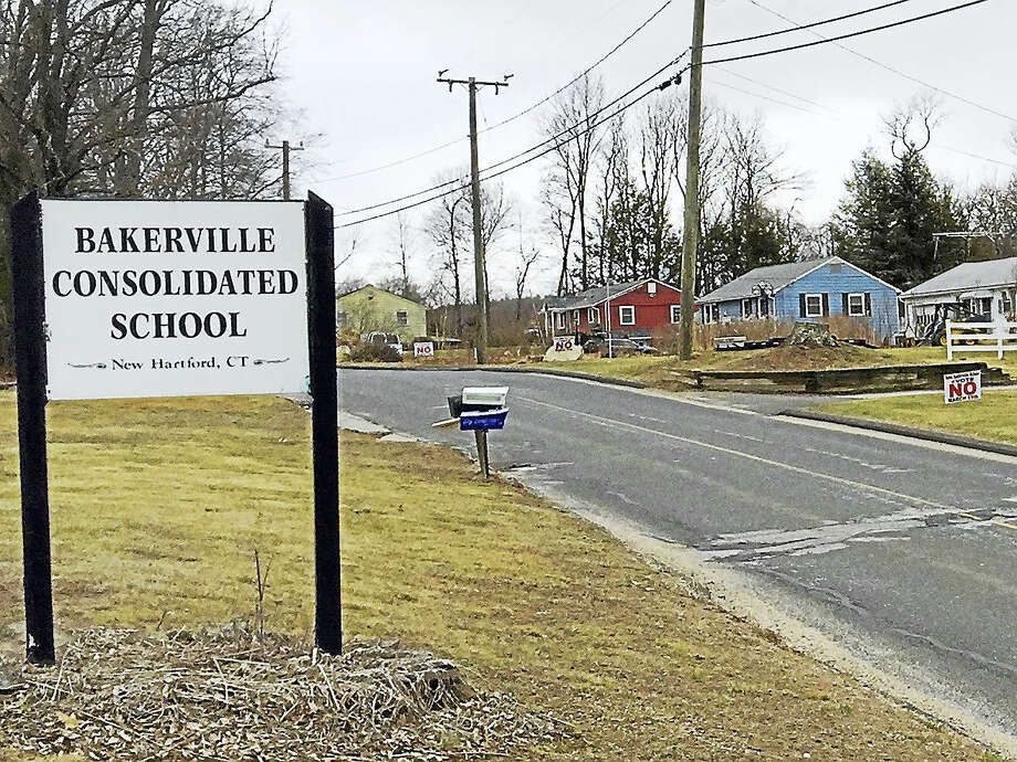 The Bakerville Consolidated School will remain open as the New Hartford Board of Education voted to allocate funding for it in the upcoming budget. Photo: BEN LAMBERT — THe Register Citizen