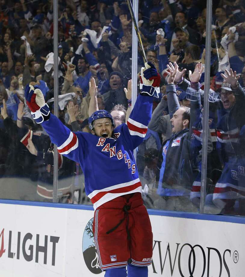 The New York Rangers have signed center Derek Stepan to a long-term contract. Photo: Kathy Willens — The Associated Press File Photo  / AP