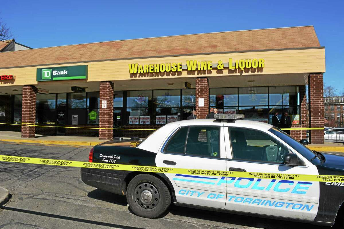 Police arrested one man suspected of robbing the TD Bank located on High Street.