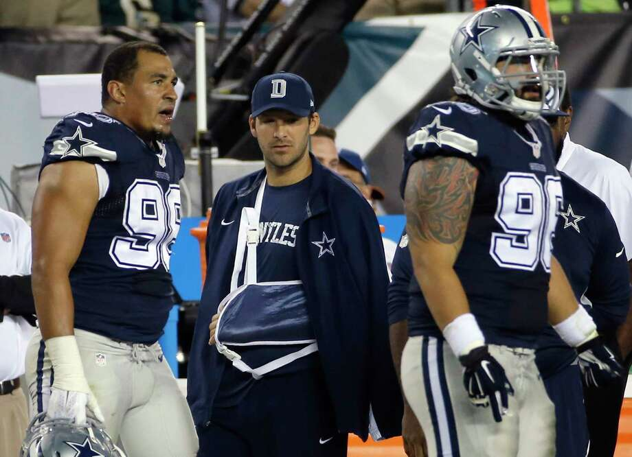 The Register's Dan Nowak says the return of Dallas Cowboys quarterback Tony Romo means an easy win in Miami over the Dolphins. Photo: Michael Perez — The Associated Press File Photo  / FR168006 AP