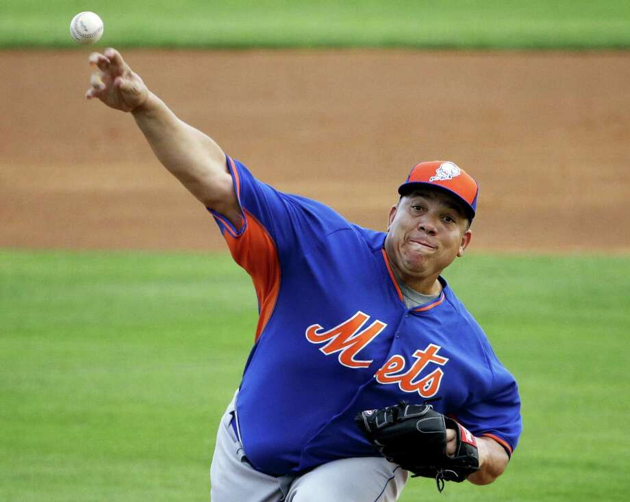 Bartolo Colon has been picked to start the New York Mets season opener at Washington on April 6. Photo: The Associated Press File Photo  / AP