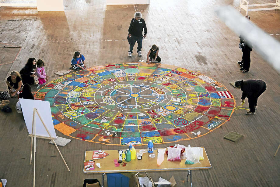 A public art installation at the Goffe Street Armory last year. Photo: Photo Courtesy Of Artspace