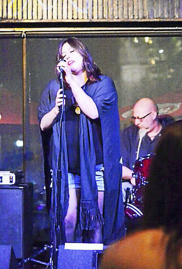 Photo by Domenic ForcellaKelly Rago of EasyBaby will perform at the Blues Challenge Finals. Photo: Journal Register Co.