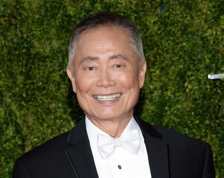 """In this June 7, 2015, file photo, actor George Takei arrives at the 69th annual Tony Awards in New York. A Virginia mayor is facing a backlash from Takei after the politician cited the mass detention of Japanese-Americans during World War II to deny Syrian refugees the opportunity to resettle in the United States. The TV and stage star pointed out that Bowers was wrong to call those interred as """"foreign nationals"""" since two-thirds were U.S. citizens. Also, he said there was never any proven incident of espionage or sabotage from the Japanese-Americans held. Photo: Photo By Evan Agostini/Invision/AP, File   / Invision"""