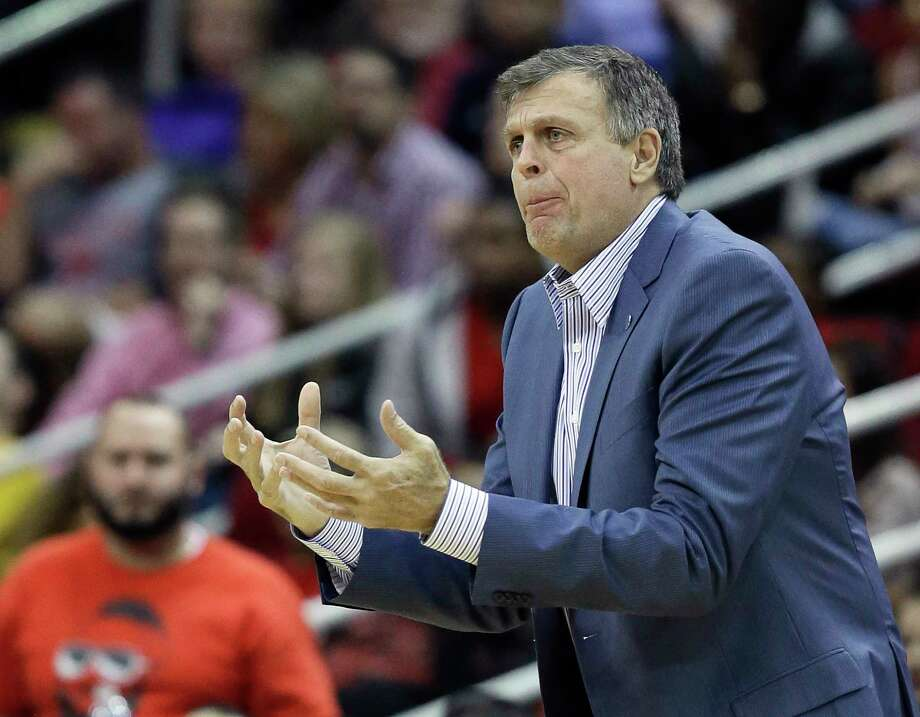 The Houston Rockets fired head coach Kevin McHale on Wednesday with the team off to a puzzling 4-7 start. Photo: Pat Sullivan — The Associated Press  / AP