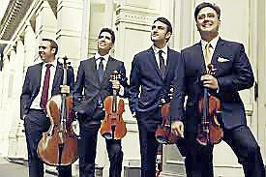 Contributed photo The Escher Quartet performs Oct. 23 at St. John's church in Washington. Photo: Journal Register Co.