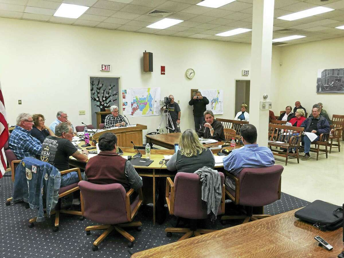 Ben Lambert - The Register CitizenThe Winchester Planning and Zoning closed the public hearing on proposed new zoning regulations for the community Tuesday.