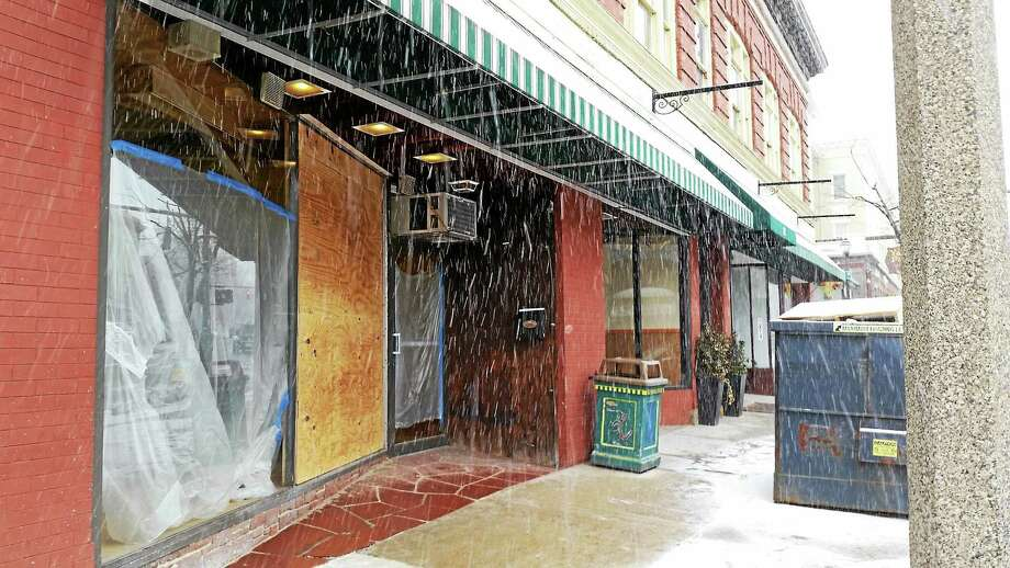 A Mediterranean restaurant will move into 75 and 77 Main St. in Torrington later this spring. Photo: Amanda Webster — The Register Citizen