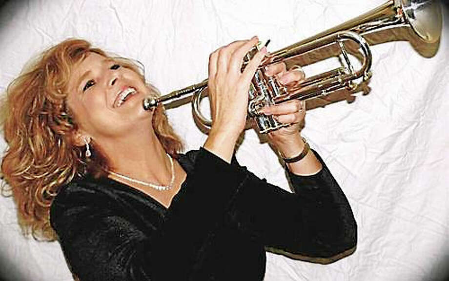 Contributed photoTrumpet player Louise Baranger plays the Poli Club at the Waterbury Palace Theater Dec. 4. Photo: Journal Register Co.
