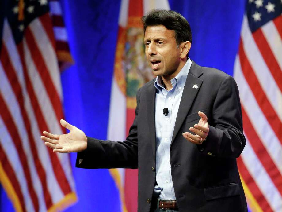 Republican presidential candidate Louisiana Gov. Bobby Jindal, addresses the Sunshine Summit in Orlando, Fla., Saturday, Nov. 14, 2015. Photo: AP Photo/John Raoux / AP