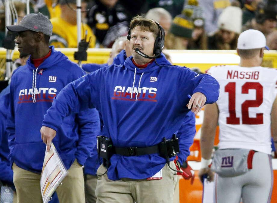 New York Giants head coach Ben McAdoo. Photo: Mike Roemer — The Associated Press  / FR155603 AP